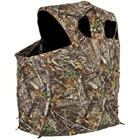 Ameristep Tent Chair Easy Fold Over Ground Blind,...