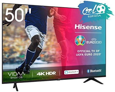 Hisense UHD TV 2020 50AE7000F - Smart TV Resolución 4K con Alexa integrada, Precision Colour, escalado UHD con IA, Ultra Dimming, audio DTS Studio Sound, Vidaa U 4.0: Amazon.es: Electrónica