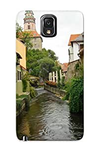 Case Cover Protector Series For Galaxy Note 3 Cityscapes Architecture Buildings Towns Case For Lovers