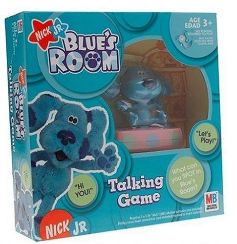 Amazon.com: Nick Jr. Blues Clues Blue\'s Room Talking Game: Toys & Games