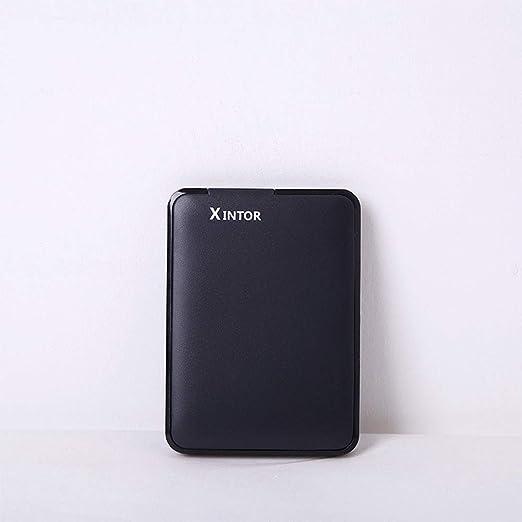 Murakush 外付けハードドライブ モバイルハードディスク ハードディスク モバイルHDD 2.5インチ 高速USB 3.0 超薄型 超軽量 ラップトップデスクトップ用 ブラック 320GB