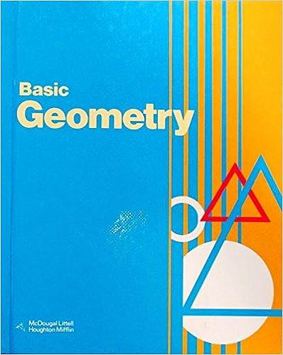 Amazon basic geometry 9780395501207 ray c jurgensen basic geometry fandeluxe Choice Image