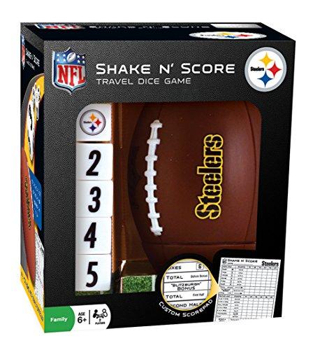 Pittsburgh Game Steelers - NFL Pittsburgh Steelers Shake 'n Score Dice Game