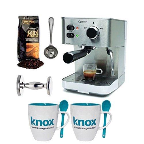 Capresso EC PRO 118.05 Espresso Machine w/Grand Aroma Bean Coffee & Accessories