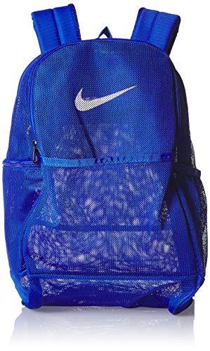 Nike Brasilia Mesh Backpack 9.0, Game Royal/Game Royal/White, Misc
