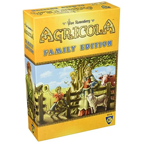 Hot Agricola Family Edition Game