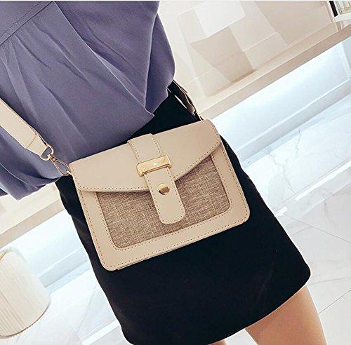 Moda Bolsa Simple 14Cm Meaeo Bandolera Cuadrado Amplia Solo Bolsa Bandolera Bolsa De 10 19 Femenina Nueva YTTwqS