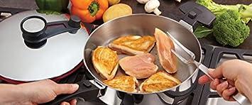 Royal Prestige - Sartén gourmet de acero inoxidable (20,3 cm ...
