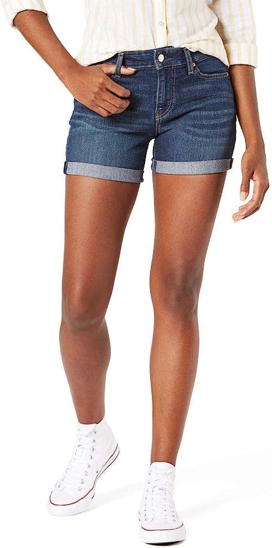 mid rise shorts