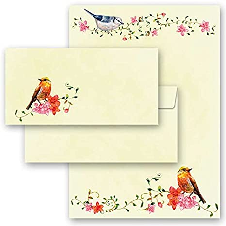 Motif Paper Stationary Paper Baccara Roses 20 Sheets DIN A4 90g//m/²