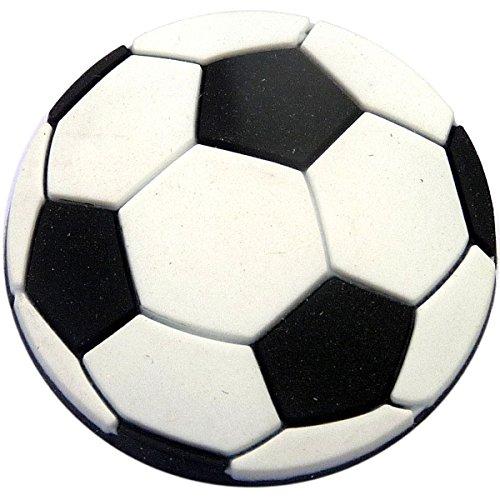 Soccer Ball Rubber Charm Jibbitz Croc Style