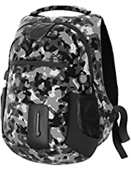 Ghostek NRGbag Series Computer Laptop Messenger Backpack Book Bag + Power Bank | Water Resistant | 7000mAh | Lightweight...