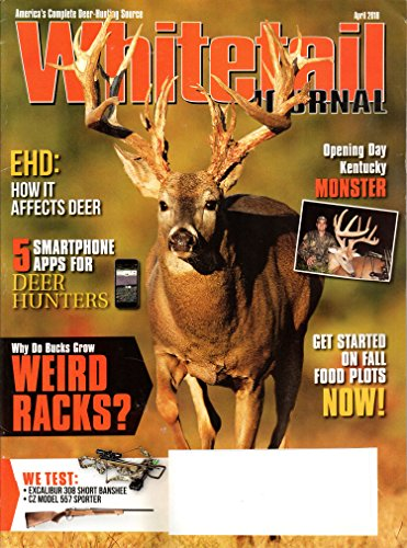 Whitetail Journal Magazine April 2018 | Why do bucks grow Weird Racks?