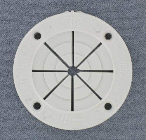 (Replacement Boat Parts White Round Rod Holder, Small)