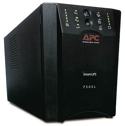APC SUA750XL 750VA Extended Run 120V Line-int 8-Out USB Smart-UPS (Black) (Discontinued by Manufacturer) - Usb 120v Lineint