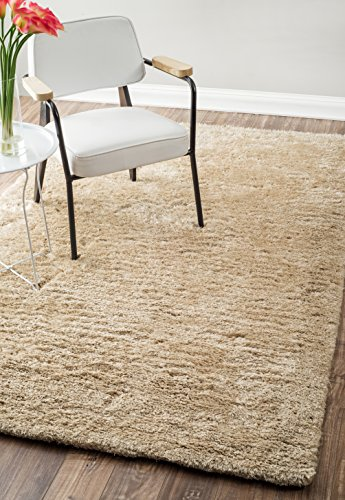 nuLOOM 100-Percent Polyester Hand Tufted Maginifique Shag Area Rug, 8' 6