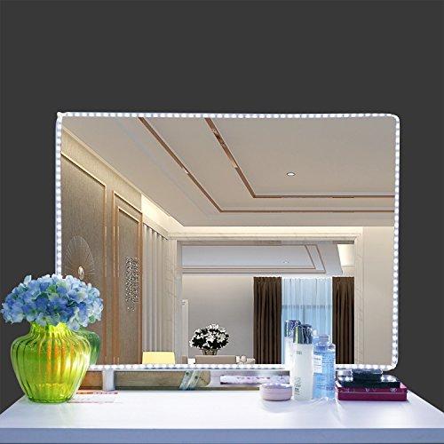 LED luces de espejo de cambiador Kit, denknova 13ft/4M 240LED maquillaje cambiador Juego de tira de luz para lavabo...