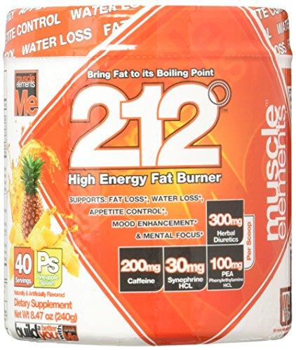 Muscle Elements 212 Powder, Pineapple Splash, 0.6600 Pound