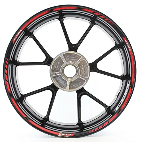 SpecialGP color-matched adhesive rim-striping wheel rim pin stripe pinstriping tape sticker decals for Honda CBR 650F 17-inch wheels
