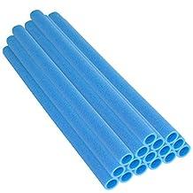 Mangas de los postes rebote superior cama elástica se adapta a 3,81 cm diámetro del poste, azul