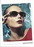 Magazine PRINT AD With Snejana Onopka For 2006 LV Sunglasses Large