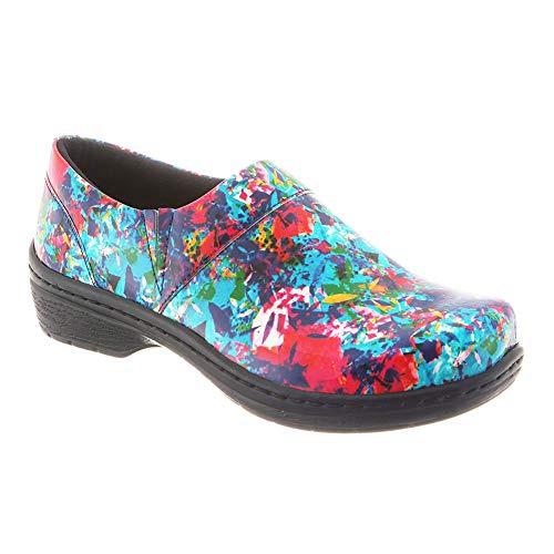 Patent Nursing Back Women's Clog Mission Closed KLOGS Footwear Kaleidoscope UgqxPOw8w