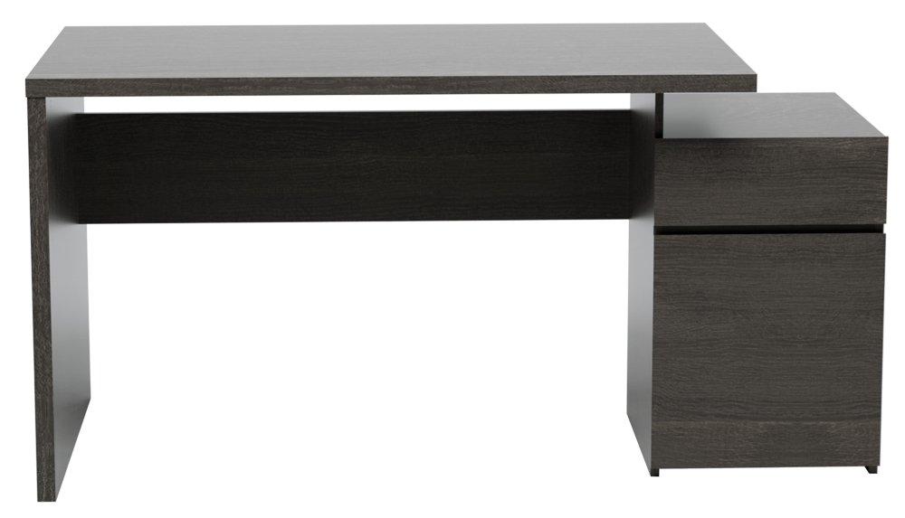INFINIKIT Haven Schreibtisch - graue Eiche: Amazon.de: Küche & Haushalt