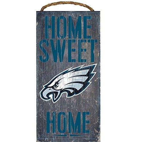 Decor Home Philadelphia Eagles - Philadelphia Eagles Home Sweet Home Wood Sign 12