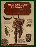 img - for New England Indians (Illustrated Living History Series) book / textbook / text book