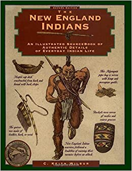 Book The New England Indians (Illustrated Living History Series)