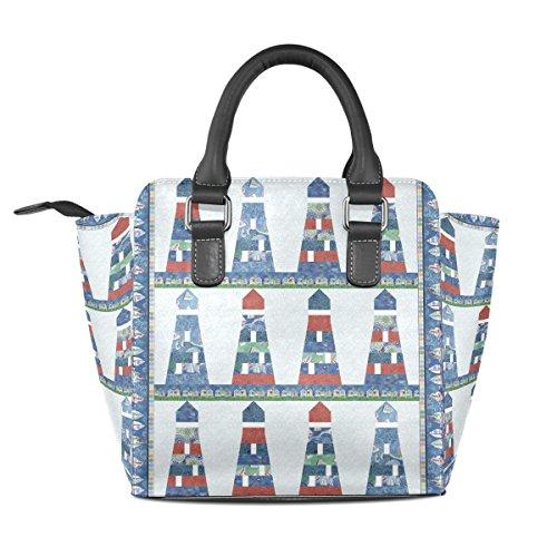 COOSUN - Bolso de asas para mujer multicolor multicolor M Multicolor#2