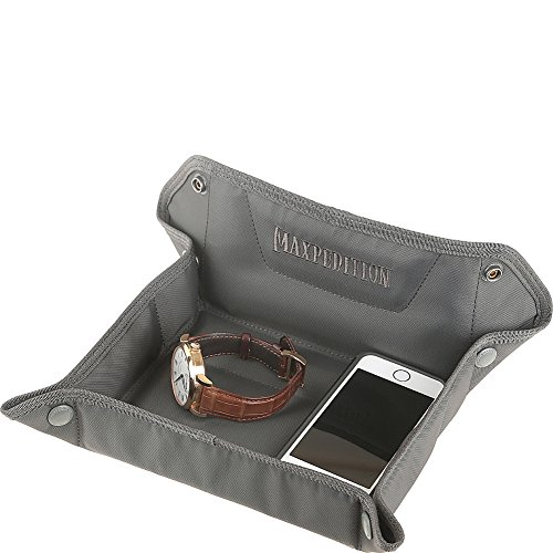 Maxpedition AGR Advanced Gear Research FTV Folding Travel Valet Tray, Gray