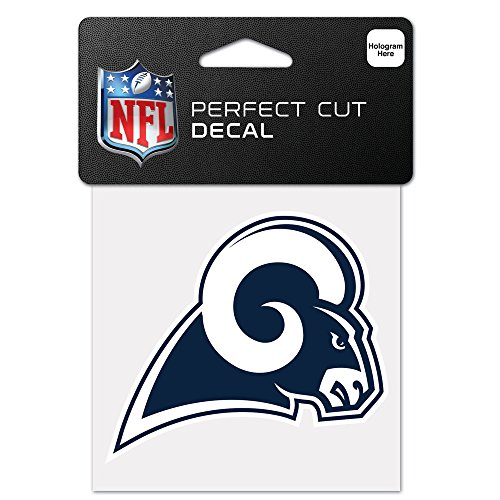 WinCraft NFL St. Louis Rams 63090011 Perfect Cut Color Decal, 4