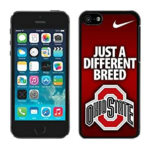 Apple iPhone 5C Cover Case NCAA-BIG TEN Ohio State Buckeyes 5 Plastic iPhone 5c 5th Generation Case