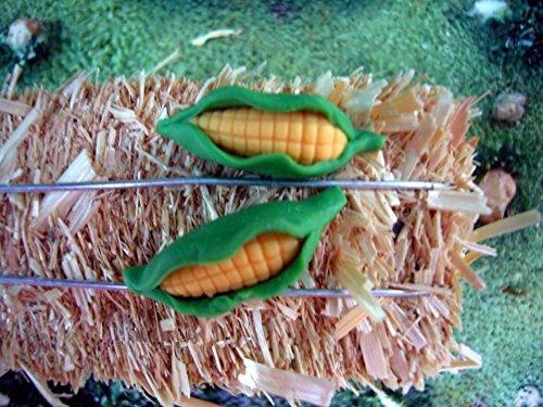 corn husk earrings - 5