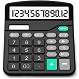 Calculator, EUBER Standard Functional Desktop Calculator and 12-digit Large Display