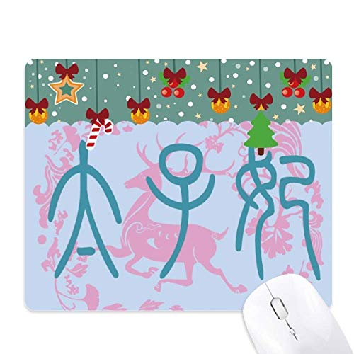 Emperor Wife China Ancient Deer Pattern Mouse Pad Game Office Mat Christmas Rubber Pad