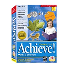 HB Achieve! Math & Science Grades 1st-3rd (PC and Mac)