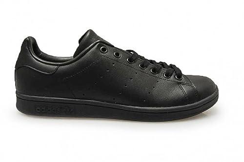 55473e0eb3 Adidas Mens - Stan Smith - Black - UK 11.5  Amazon.co.uk  Shoes   Bags