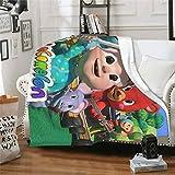 Coco-ME-LON Toddler Bedding Blankets, Super Soft