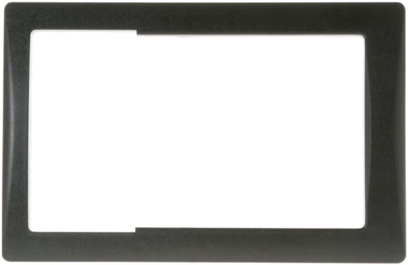Ge WR38X23216 Refrigerator Dispenser Trim (Black) Genuine Original Equipment Manufacturer (OEM) Part Black