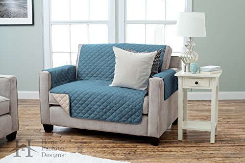Home Fashion Designs Deluxe Reversible Quilted Furniture Pro