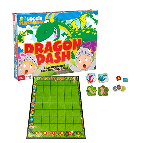 Noggin Playground Dragon Dash - Encourages Team Work And Critical Thinking - Either Everyone Wins, Or Everyone is Defeated (Ages 5+)