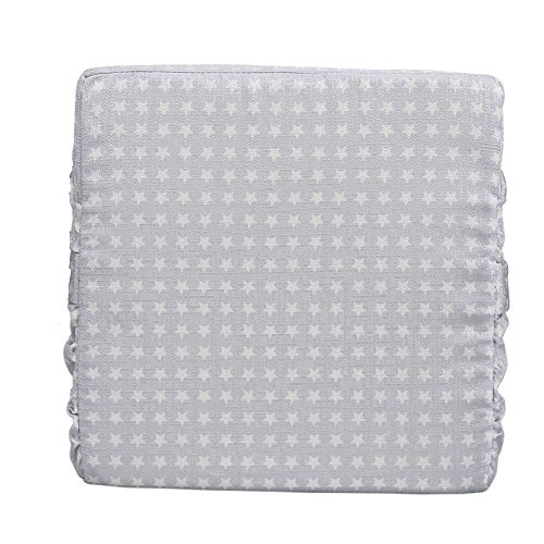 ZL Magic Kids Chair Booster Pad Dismountable Kids Dining Seats Booster Comfortable Cushion Baby Children High Chair Pad (Grey) by ZL Magic (Image #3)