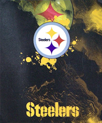 Series Fleece Throw Blanket (The Northwest Company NFL Officially Licensed Pittsburgh Steelers Ghost Series Fleece Throw Blanket)