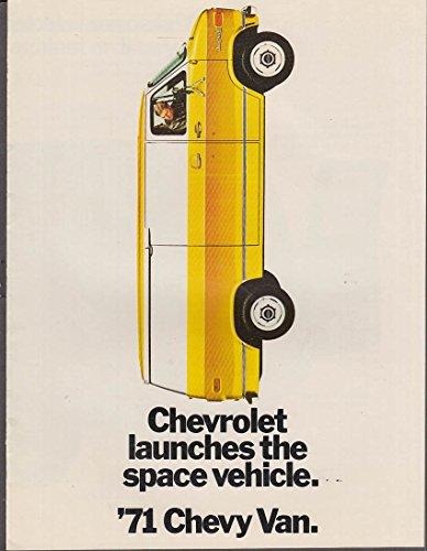 1971 Chevrolet Chevy Van sales brochure ()