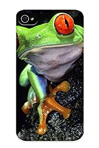 Cute High Quality Iphone 4/4s Redeyed Tree Frog Case Provided By Honeyhoney