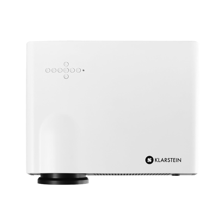 Klarstein Luminothérapie Bien-Etre-Q-2001 HD-Proyector LED, HDMI ...