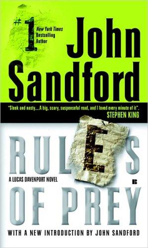 Lucas Davenport Book Series Rules Of Prey John Sandford