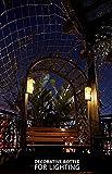 Mason Jar Sconces with LED - Fairy Lights,Vintage